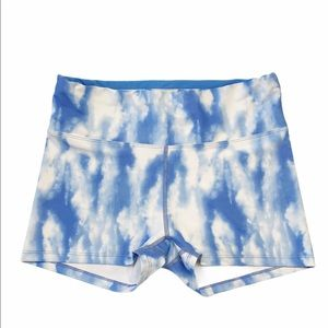Oiselle Cloud Print Shorts
